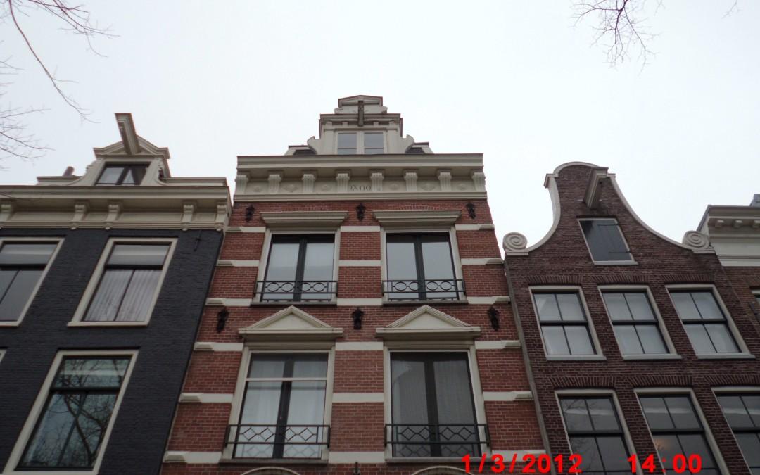 Restauratie grachtenpand Amsterdam